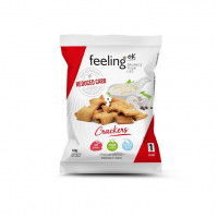 FEELING OK CRACKERS NATURAL 50g START 1