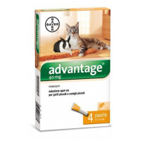 ADVANTAGE 40 PER GATTI 4 PIPETTE 0,4ML SPOT ON