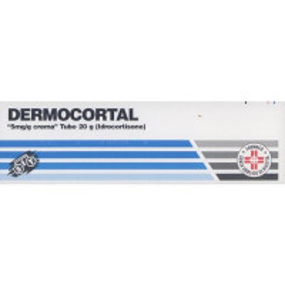 DERMOCORT, 5 MG/G CREMA TUBO 20 G