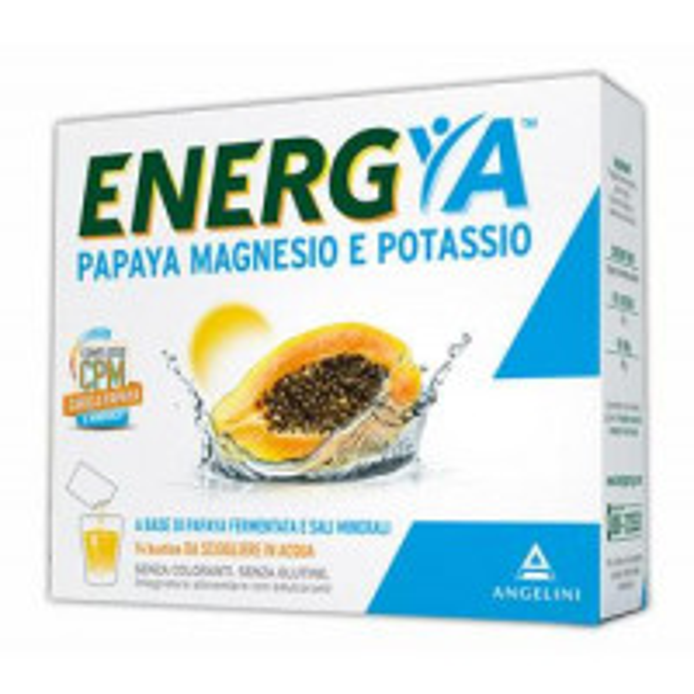 ENERGIA PAPAYA MAGNESIO POT14B