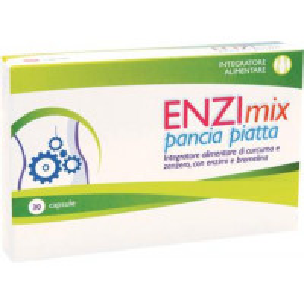ENZIMIX PANCIA PIATTA 30CPS