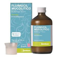 FLUIMUCIL MUC, 600 MG/15 ML SCIROPPO FLACONE 200 ML