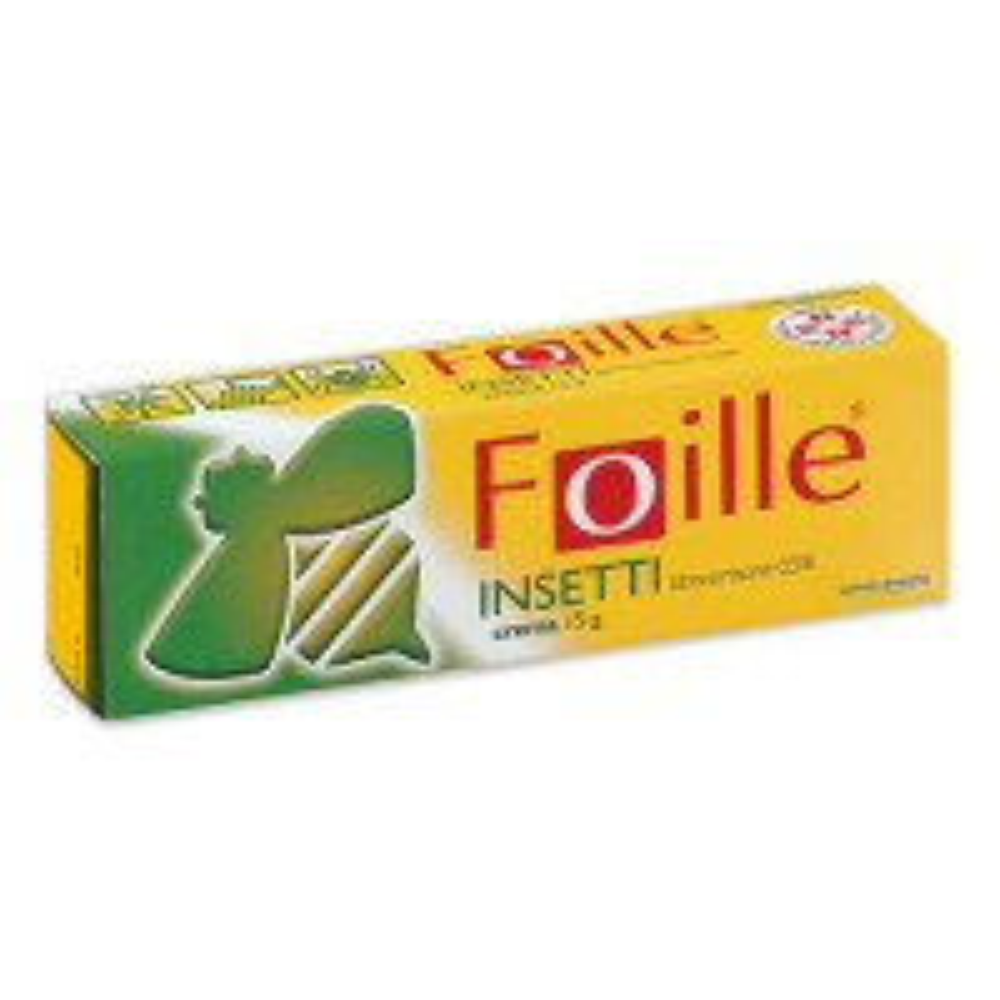 "FOILLE INSET, ""0,5% CREMA""TUBO 15 G"""