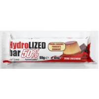 PRONUTRITION HYDROLIZED BAR 50% CREME CARAMEL FONDENTE CRUNCHY 55g