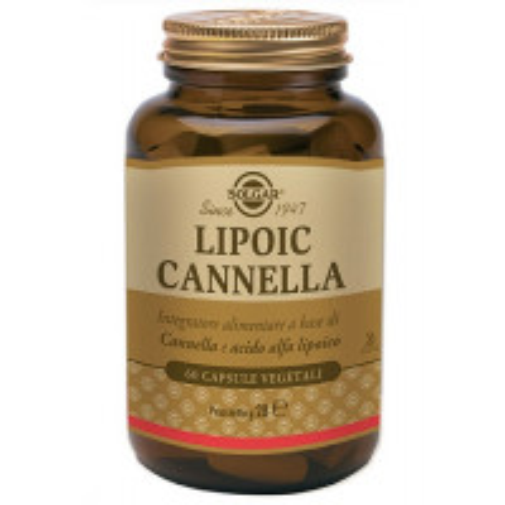 LIPOIC CANNELLA 60CPS VEG