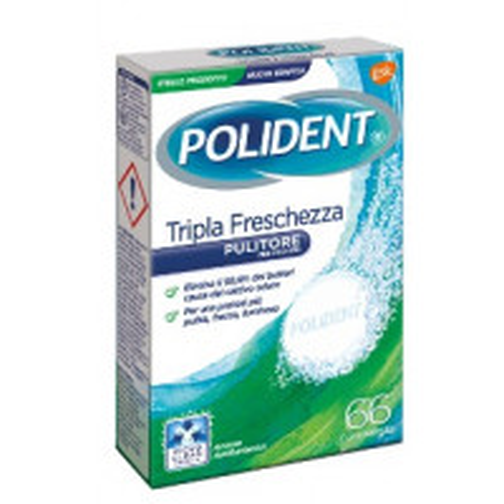 POLIDENT TRIPLA FRESCH 66CPR