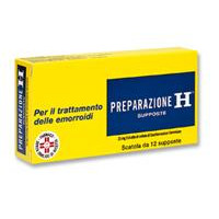 "PREPARAZIONE, ""23 MG SUPPOSTE""12 SUPPOSTE"""