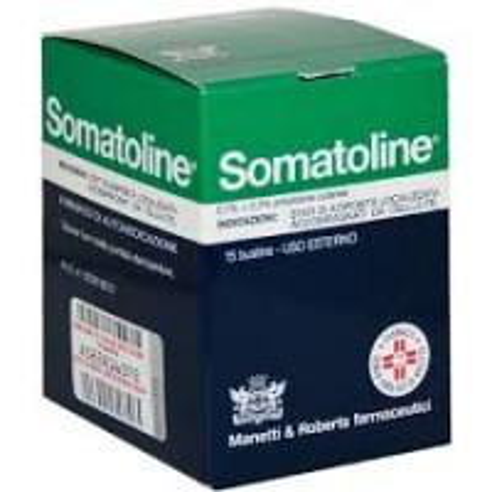 SOMATOLINE 0,1% + 0,3% EMULSIONE CUTANEA 10 BUSTINE