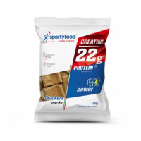 SPORTY FOOD CRACKERS PAPRIKA 50g