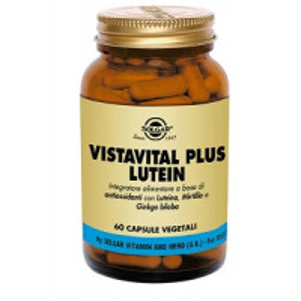 VISTAVITAL PLUS LUTEIN 60CPS