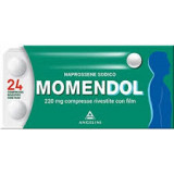 MOMENDOL, 220 MG COMPRESSE RIVESTITE CON FILM 24 COMPRESSE
