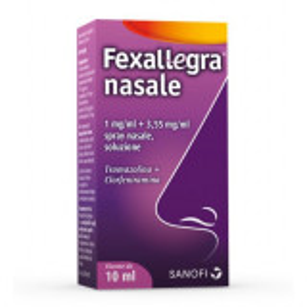 FEXALLEGRA SPRAY NASALE FLACONE 10 ML