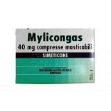 "MYLICONG, ""40 MG COMPRESSE MASTICABILI""50 COMPRESSE"""