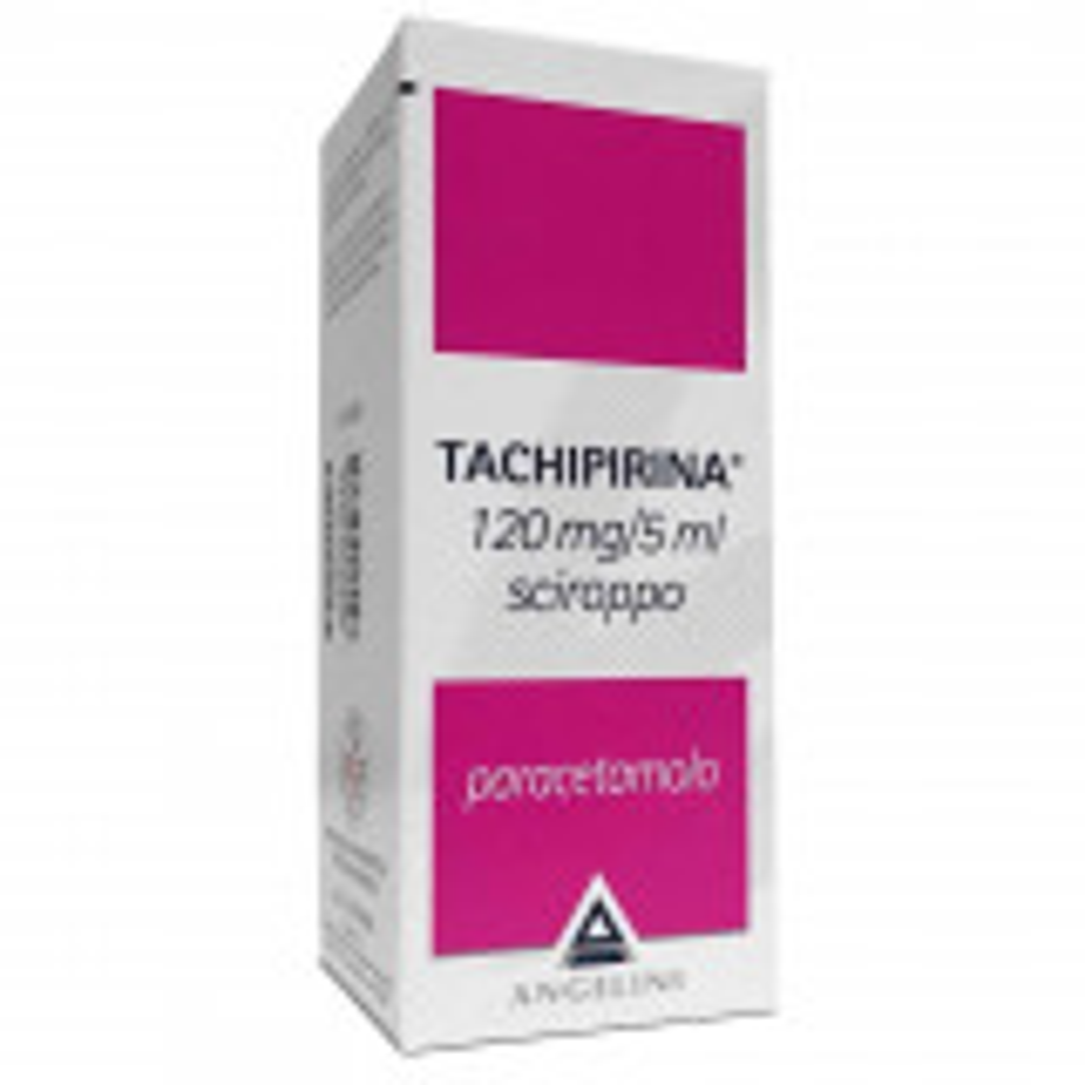 TACHIPIRINA 120mg/5ml SCIROPPO 120 ML CON BICCHIERINO DOSATORE