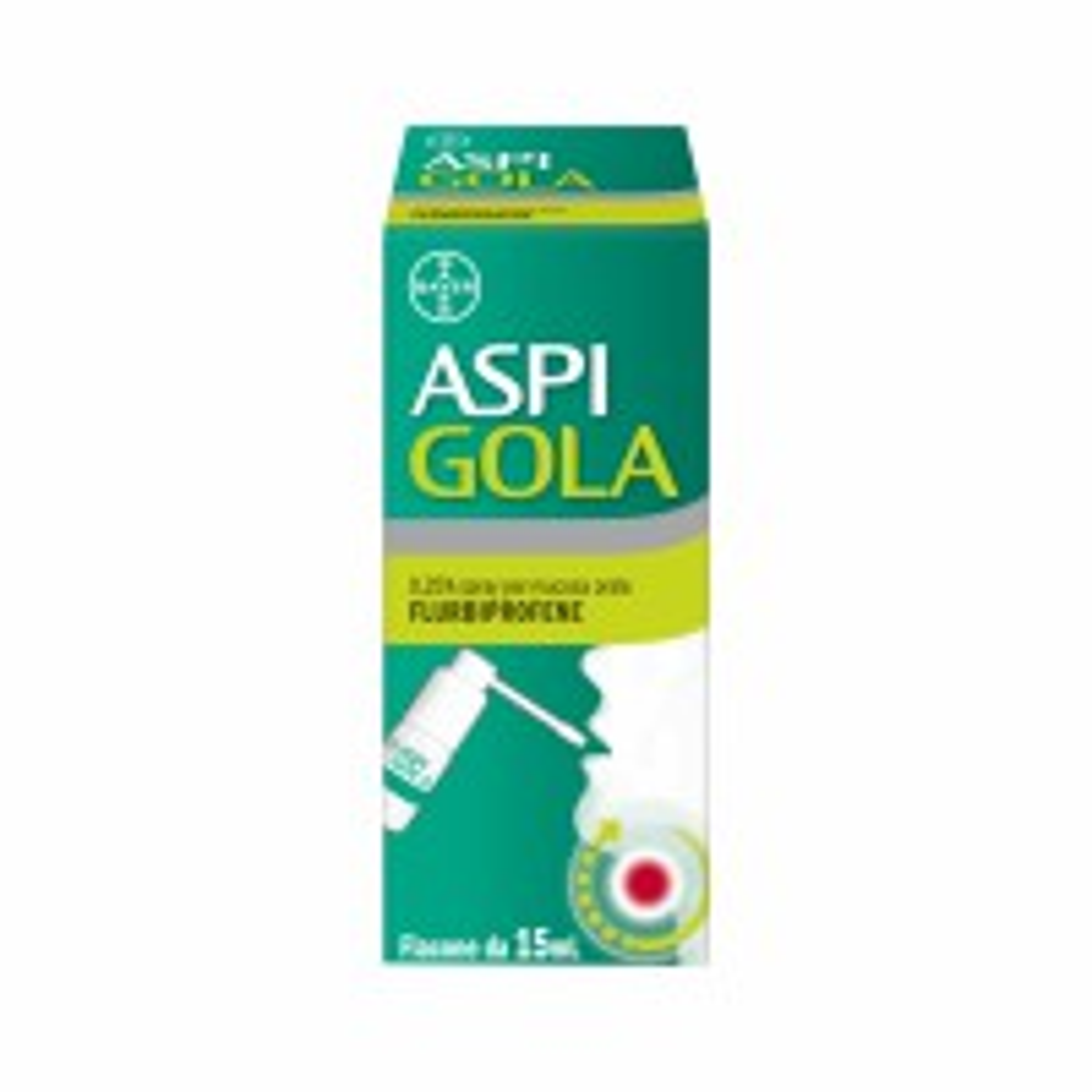 ASPI GOLA 0,25% SPRAY PER MUCOSA ORALE VIVAFARMACIA