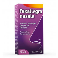 FEXALLEGRA NASA, 1 MG/ML + 3,55 MG/ML SPRAY NASALE, SOLUZIONE 1 FLACONE DA 10 ML