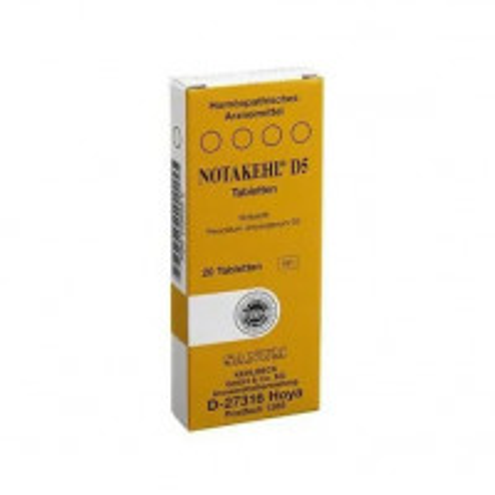 Notakehl D5 20 Compresse Sanum