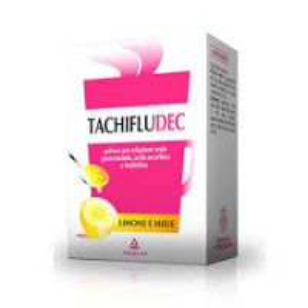 TACHIFLUDEC POLVERE 10 BUSTE LIMONE