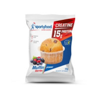 SPORTY FOOD MUFFIN BERRIES 50g