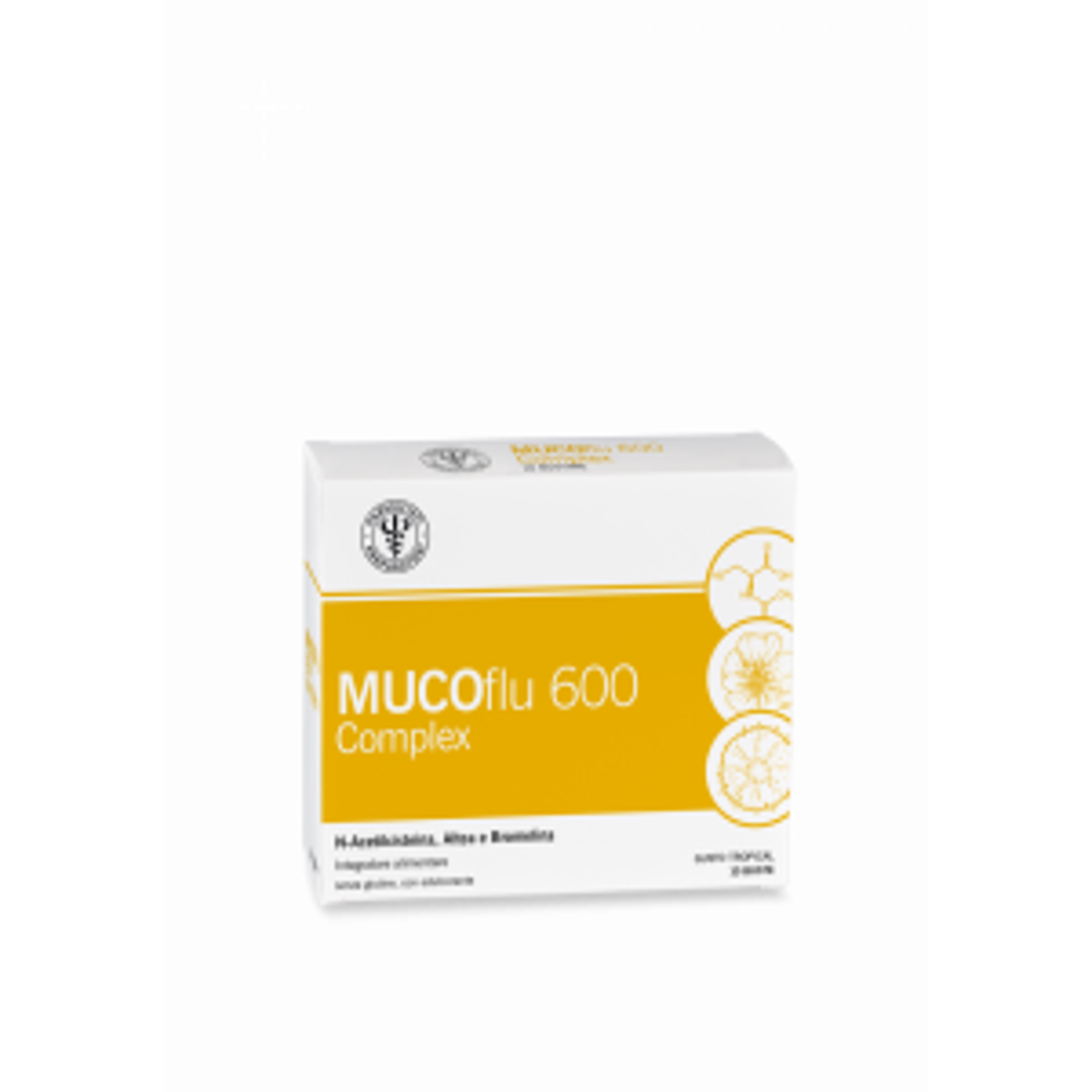 LFP UNIFARCO MUCOFLU 600 COMPLEX 10 bustine