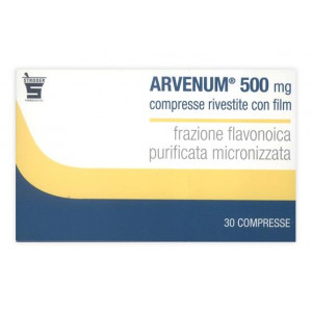 "ARVENUM 5, ""500 MG COMPRESSE RIVESTITE CON FILM""30 COMPRESSE"""