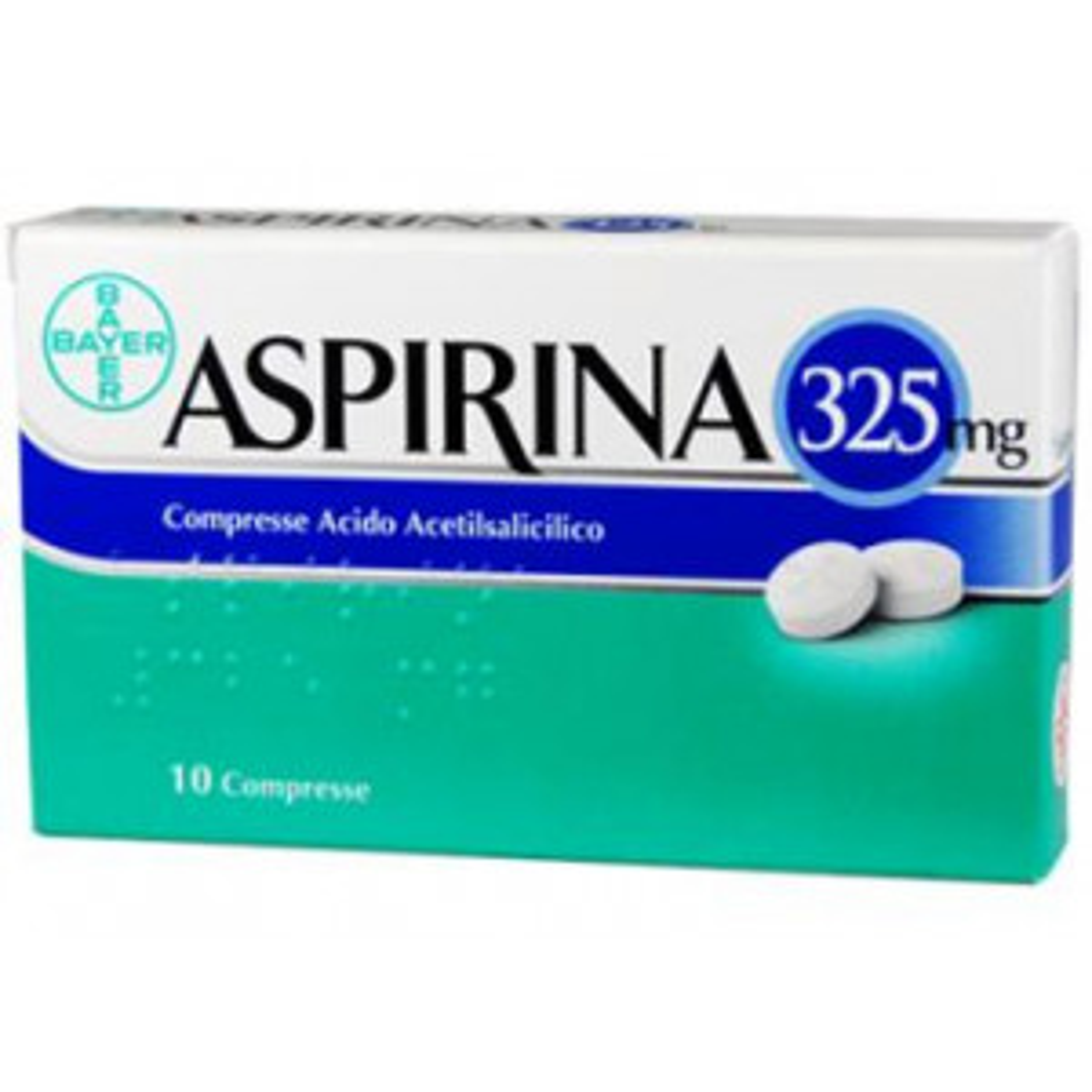 ASPIRINA COMPRESSE 325MG VIVAFARMACIA
