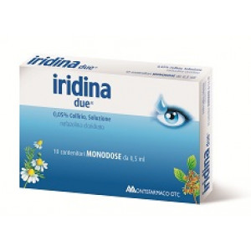IRIDINA D, 0,05% COLLIRIO, SOLUZIONE10 CONTENITORI MONODOSE DA 0,5 ML