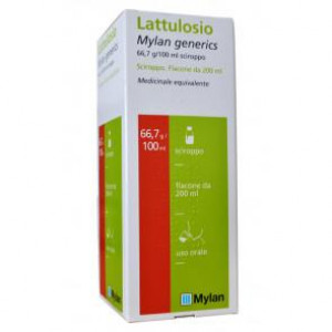"LATTULOSIO , ""66,7 G/100 ML SCIROPPO""1 FLACONE 200 ML"""