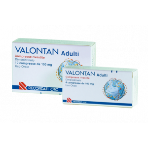 VALONT, ADULTI 100 MG COMPRESSE RIVESTITE 4 COMPRESSE